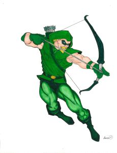 Fan Art-Green Arrow